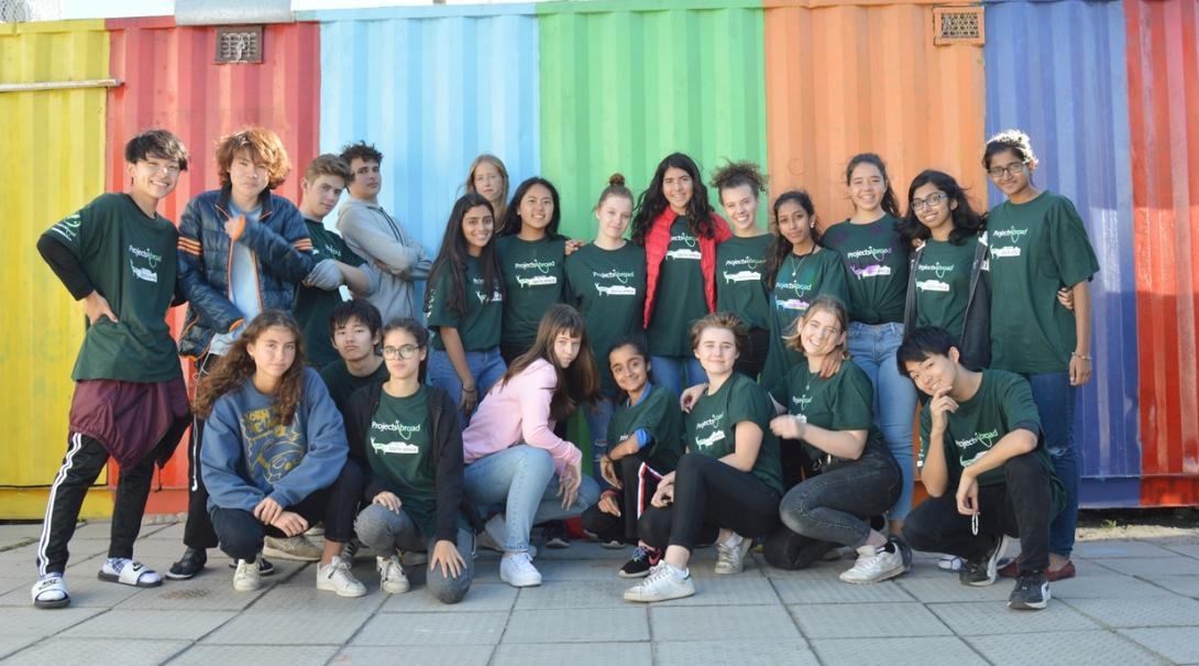 南アフリカ共和国で出会った多国籍な高校生ボランティアたち